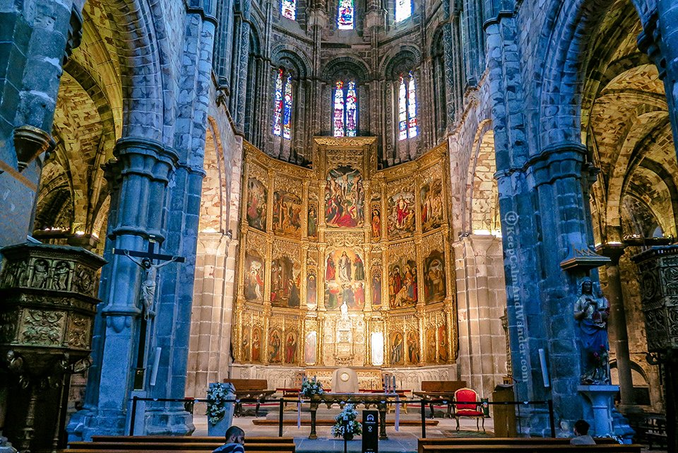 Inside Cathedral de Avila (Avila Cathedral) is the First Gothic Cathedral in Spain.