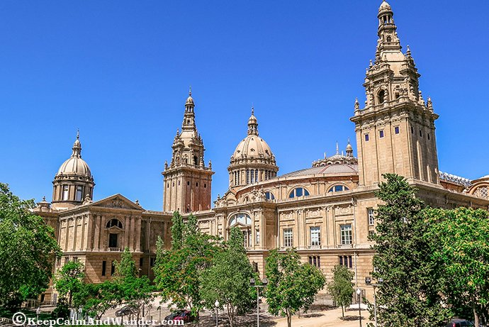 Take a Peek of Catalan Art inside MNAC (Museo Nacional d'Art de Catalunya).