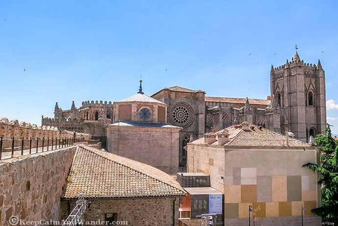Avila City Walls - Spain's Most Preserved City Walls (Spain).