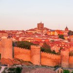 Sunset in Avila – Spain's Medieval City