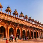 The Beautiful Jama Masjid in Fatehpur Sikri