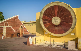 Jantar Mantar in Jaipur - Where You'll Find the Largest Stone Sundial (India).