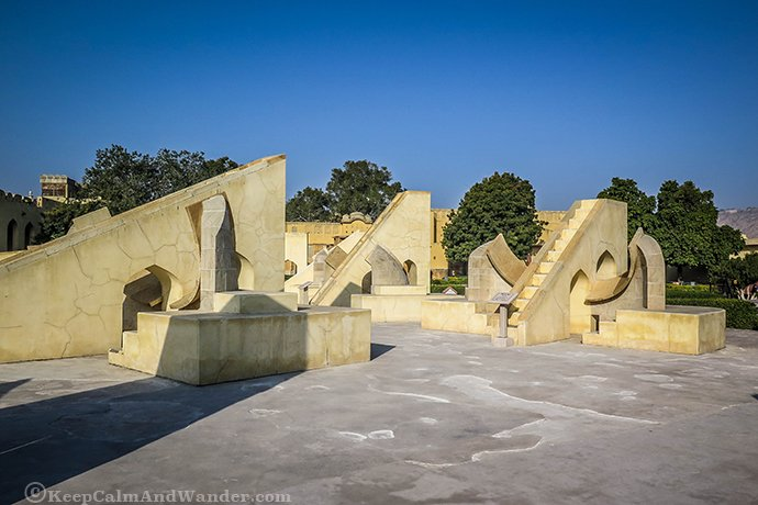Jantar Mantar - Where You'll Find the Largest Stone Sundial (India).