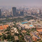 View from Cairo Tower on a Polluted Day