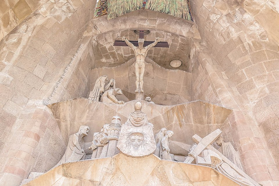 The Passion Facade The Symbols on the Facade of Sagrada Familia (Barcelona, Spain)