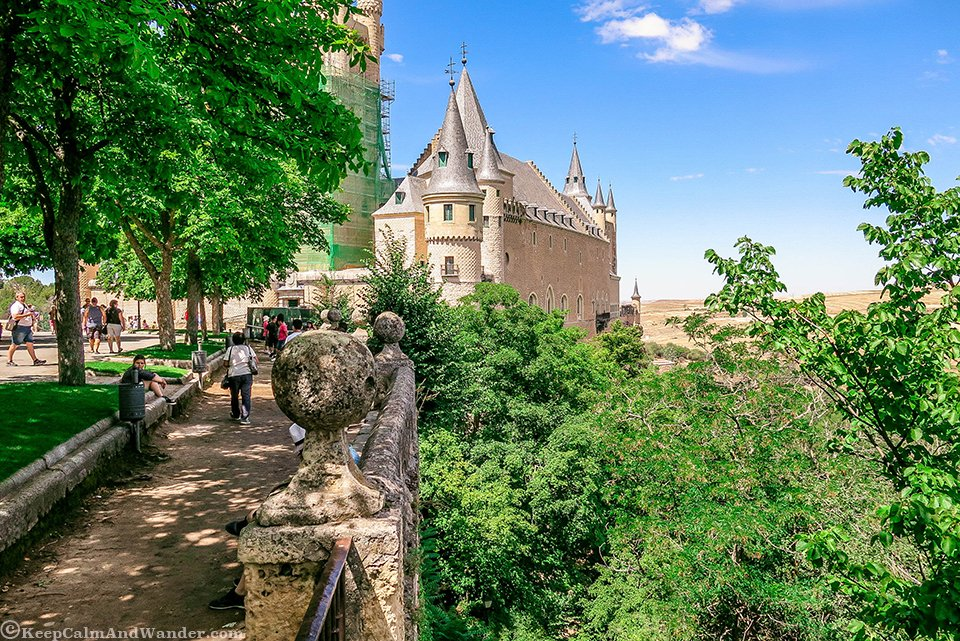 Alcazar de Segovia - A Fairytale Castle Before Disney (Spain).