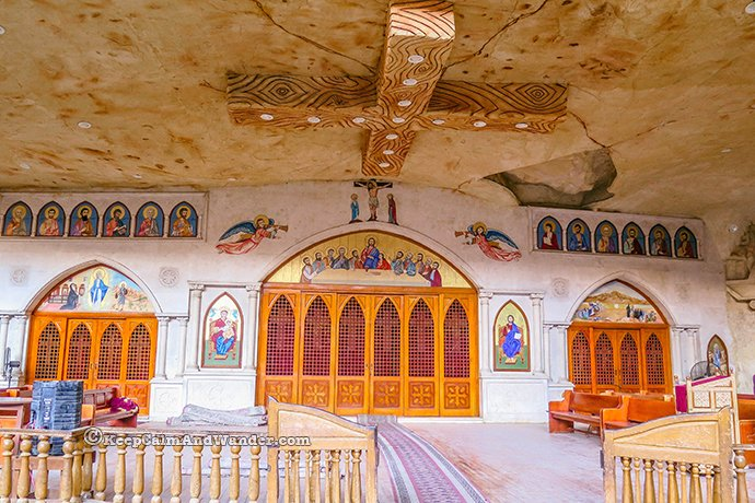 Cave Church Cairo (aka Church of Saint Simon the Tanner).