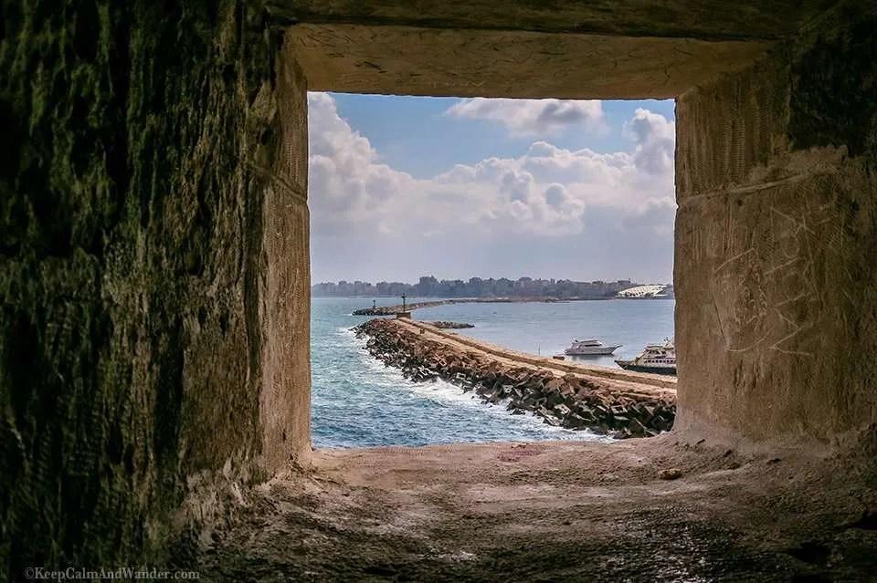 Qaitbay Citadel - A Mediterranean Fort With A View (Alexandria, Egypt).
