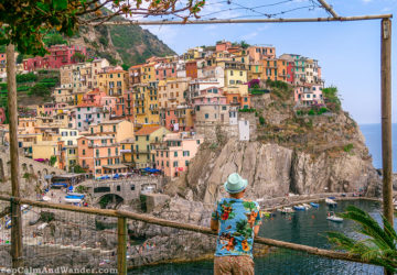 Cinque Terre - Photos from Manarola Village (Italy).