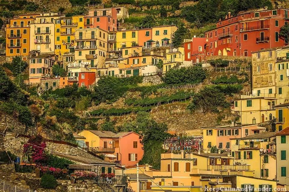 Photos from Manarola Village in Cinque Terre (Italy).
