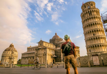 The Leaning Tower of Pisa is a Beautiful Architectural Accident (Italy).