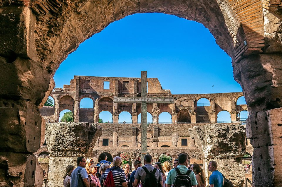 Take a Peek: Inside the Roman Colosseum (Rome, Italy).