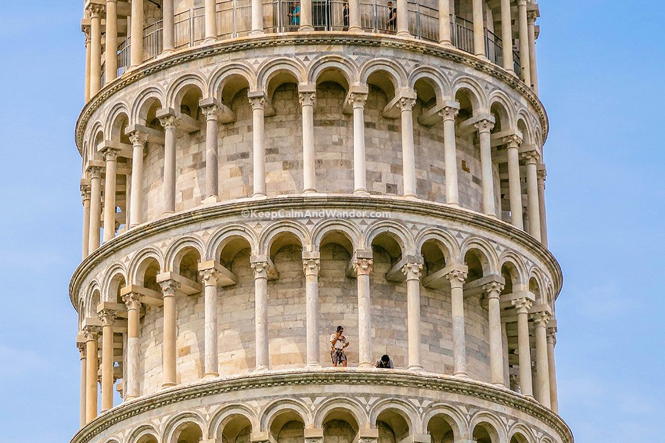 The Leaning Tower of Pisa is an Architectural Accident (Italy).