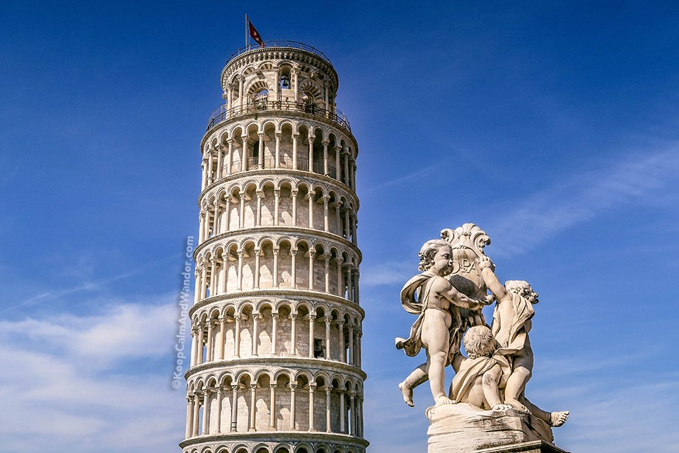 The Tilting Tower of Pisa is an Architectural Accident (Italy).