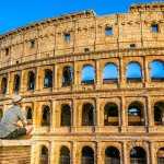 The Beauty of the Roman Colosseum Facade