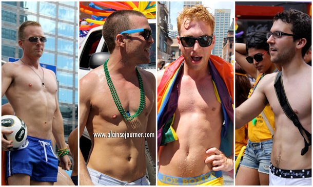 The Boys of Toronto Pride Parade 2012