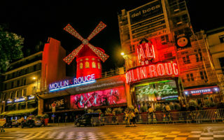 Moulin Rouge is Still Spinning It's Windmill (Paris, France).