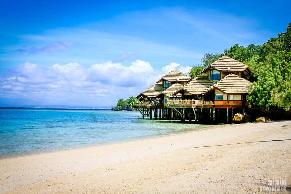 Pearl Farm Resort in Davao City, Samal Island, Philippines.