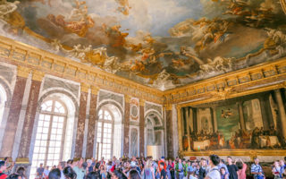 Hercules Room / Take A Peek: The Stately Rooms at the Palace of Versailles (France).