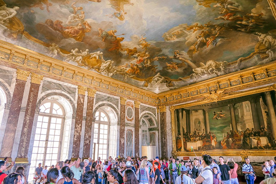 Hercules Room / Take A Peek: The Stately Rooms of the Palace of Versailles (France).
