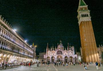 Basilica di San Marco Glitters in Gold (Venice, Italy).