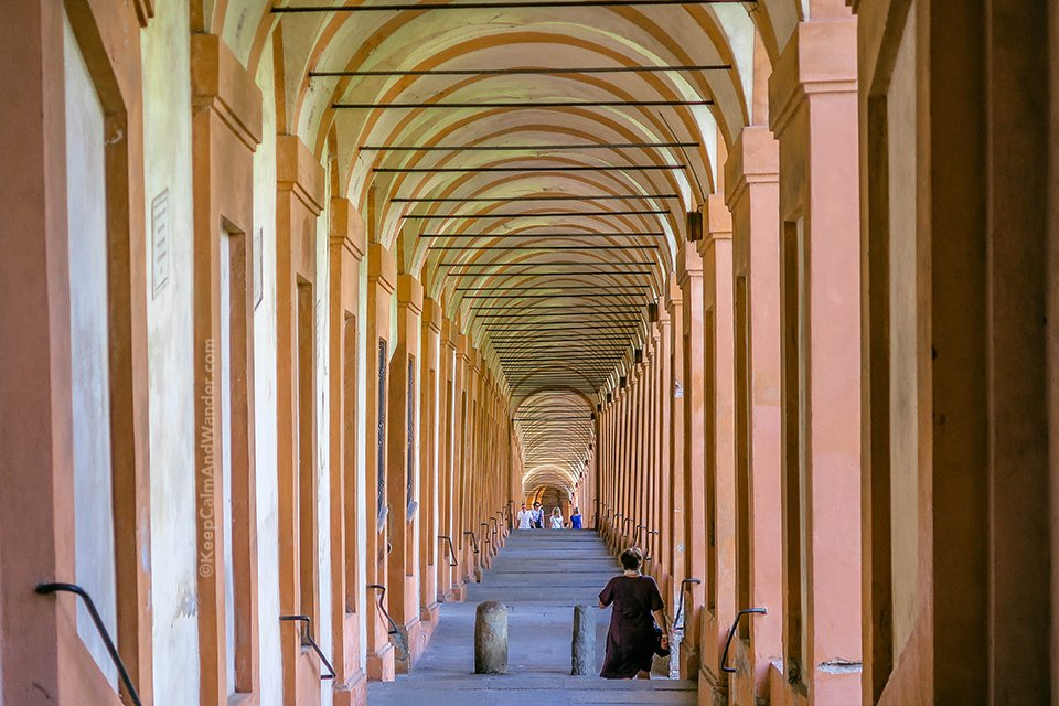 Bologna's Portico di San Luca - The Road to Sanctuary of the Madonna (Italy)