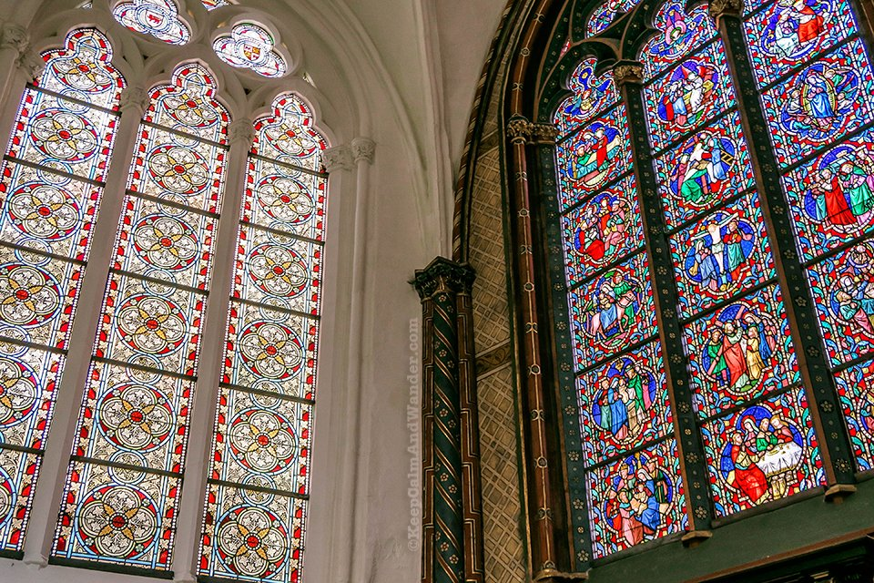 Onze-Lieve-Vrouwekerk in Bruges / Church of Our Lady (Belgium).
