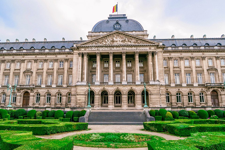 I Was Looking for The Royal Palace in Brussels But I Found These Horsemen Instead (Belgium).