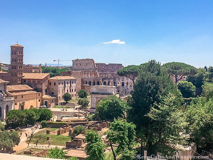 A Leisurely Walk at the Roman Forum and Palatine Hill