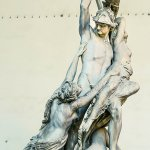 The Amazing Statues Outside Palazzo Vecchio in Florence
