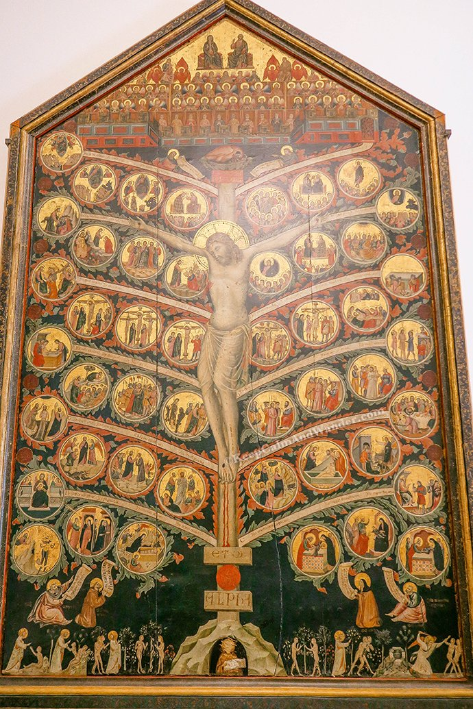 Tree of Life at Accademia Gallery in Florence (Italy).
