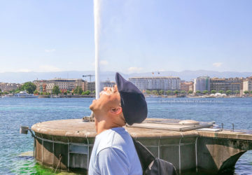Jet d'Eau is Geneva's Most Iconic Landmark (Switzerland).