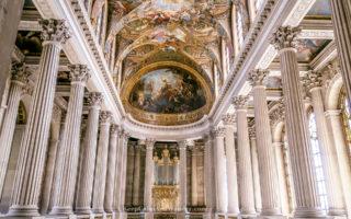 The Royal Chapel at Chateau de Versailles (France).