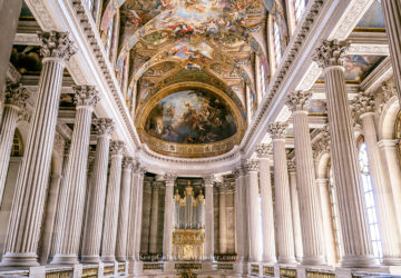 The Royal Chapel at Chateau de Versailles (France).