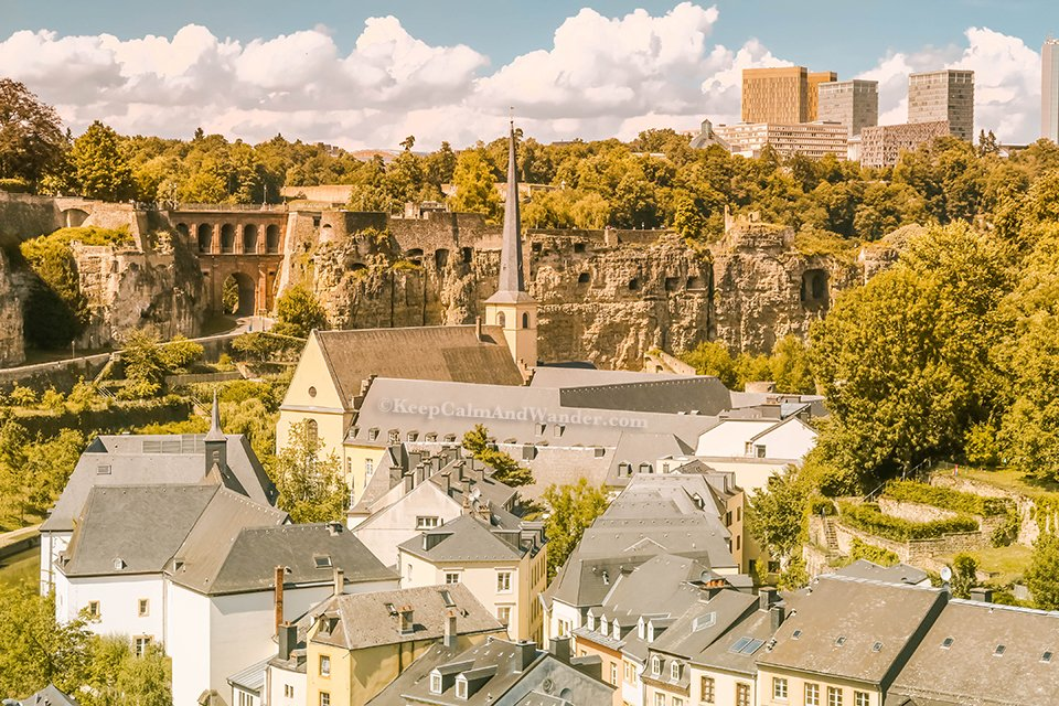 The Grund is a Charming Part of Luxembourg.