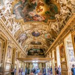 Apollo Gallery is the Most Dazzling Hall at Louvre Museum