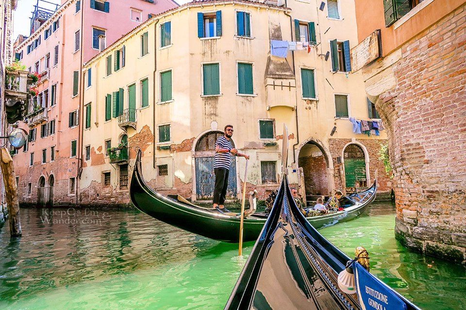 Hostel Hotel in Venezia, Italy.