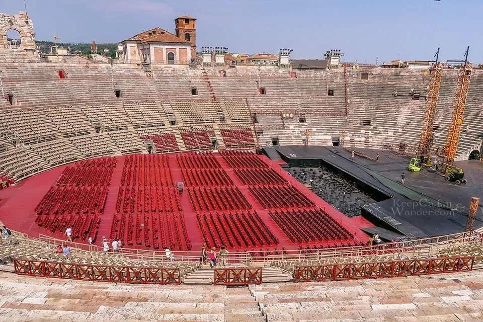 Travel Itinerary: Italy Roman Arena