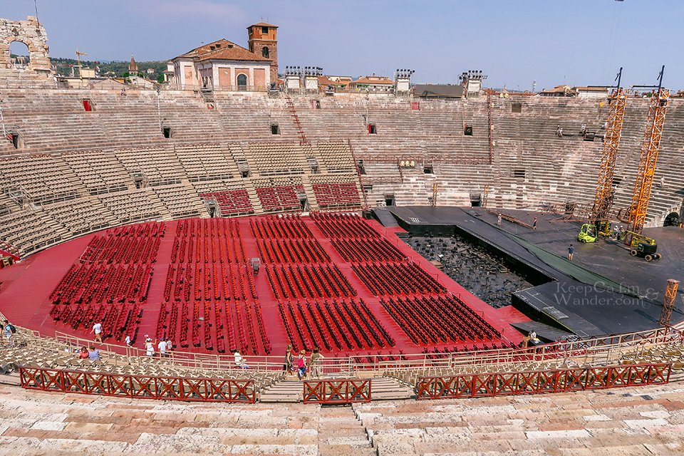 Travel Itinerary: A Day in Verona, Italy (Roman Arena in Verona).
