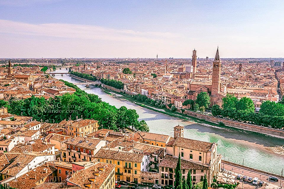 Travel Itinerary: A Day in Verona, Italy (Piazzale Caste San Pietro).