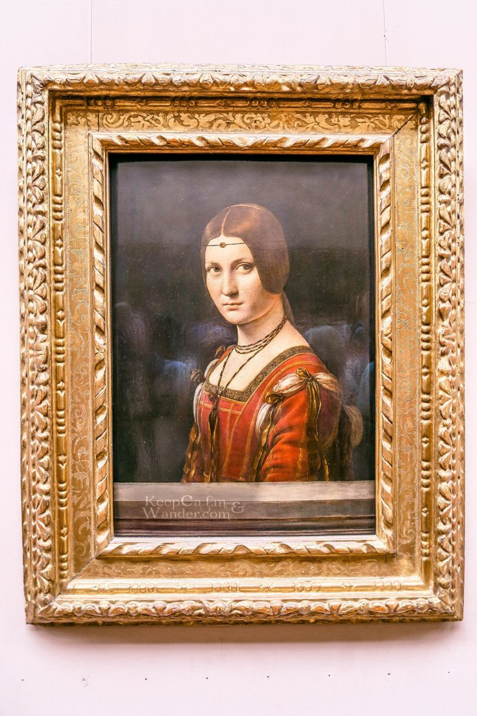5 Leonardo Da Vinci Paintings Inside the Louvre Museum (Paris, France).