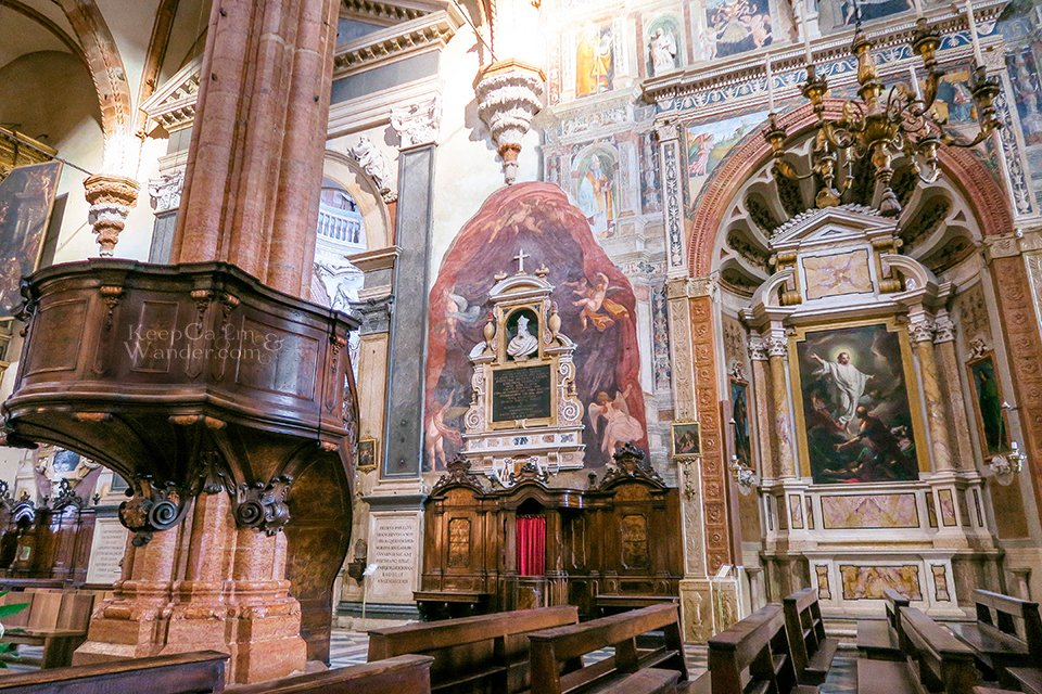 Travel Itinerary: A Day in Verona, Italy (Verona Cathedral Duomo).