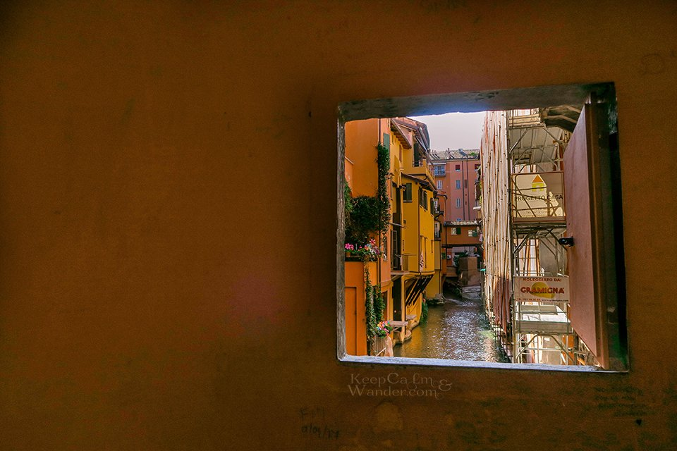 Travel Itinerary: A Day in Bologna (Via Piella, The Secret Window - Italy).