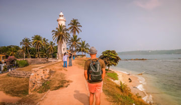 My Walking Tour Around Galle Fort (Sri Lanka).