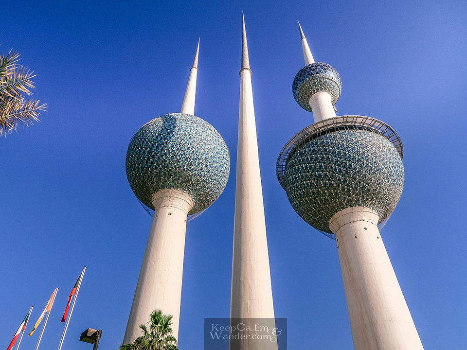 8 Things to do in Kuwait (Kuwait Towers)