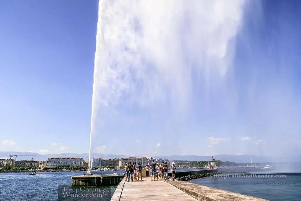 Travel Itinerary: One Day in Geneva (Switzerland).