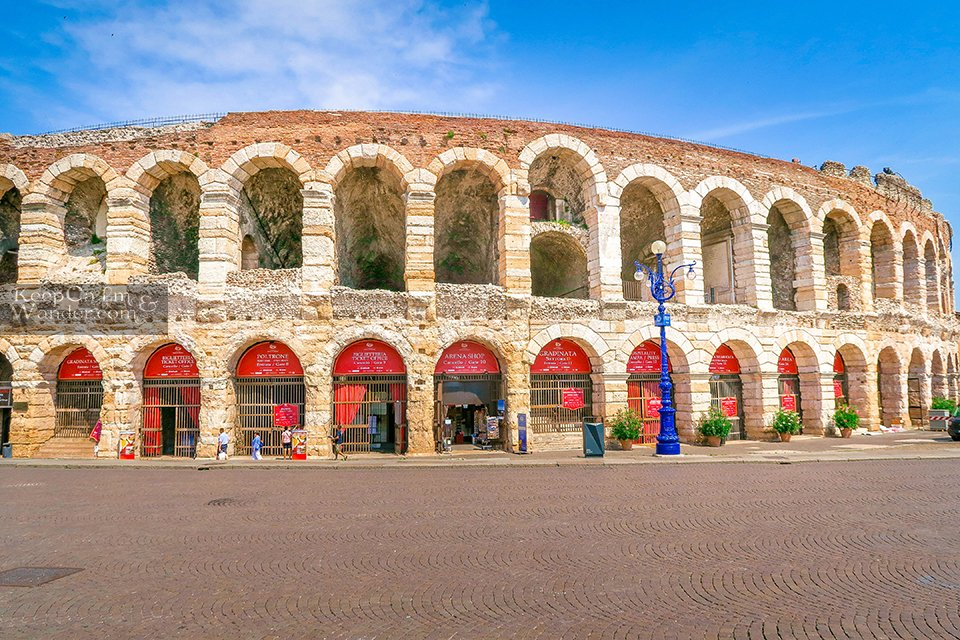 This Arena in Verona is Older Than the Colosseum in Rome (Italy).