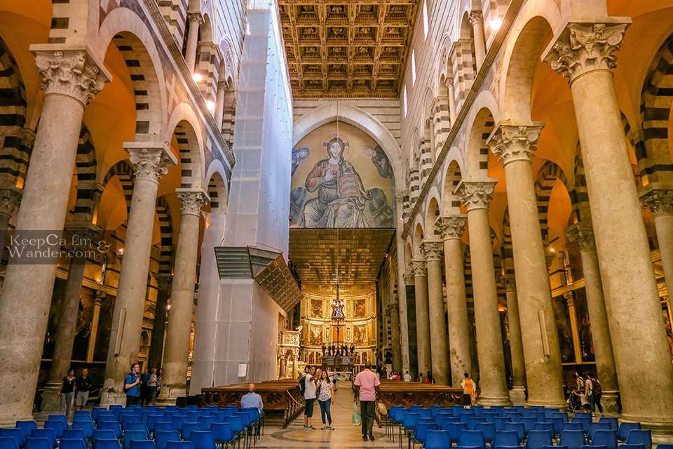 What to See Inside the Pisa Cathedral (Italy).