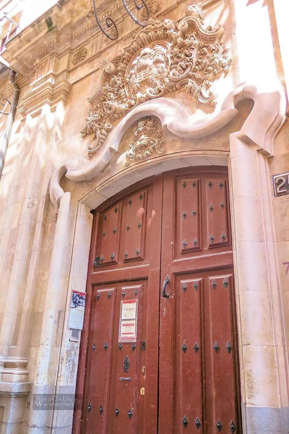 Miguel de Unamuno Office / Casa / Museo - One Day in Salamanca (Spain).
