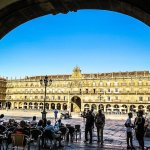 The Plaza Mayor in Salamanca Has No Place For A Dictator